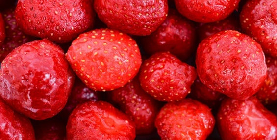 Заморожена полуниця