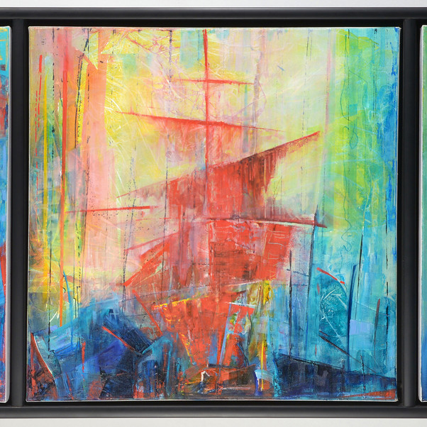 At Sea (Triptych)