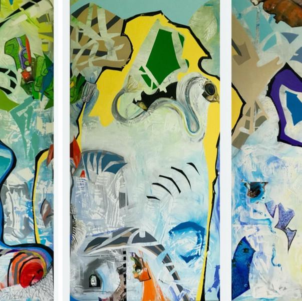 Interrelations (Triptych)