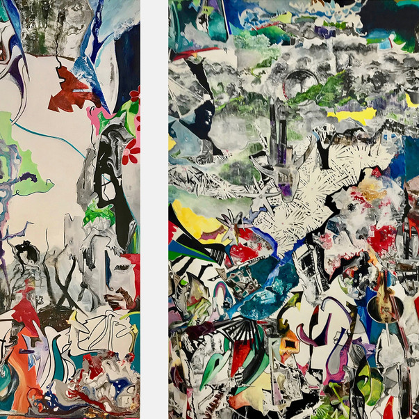 The Chaos (Diptych)
