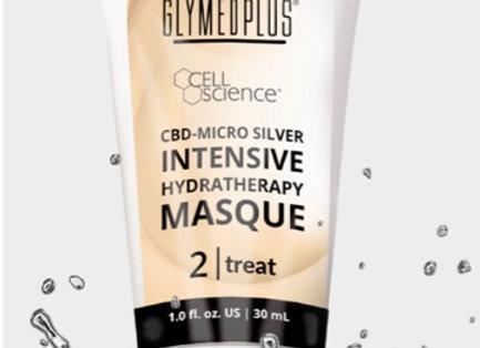CBD Micro Silver Hydratherapy Masque
