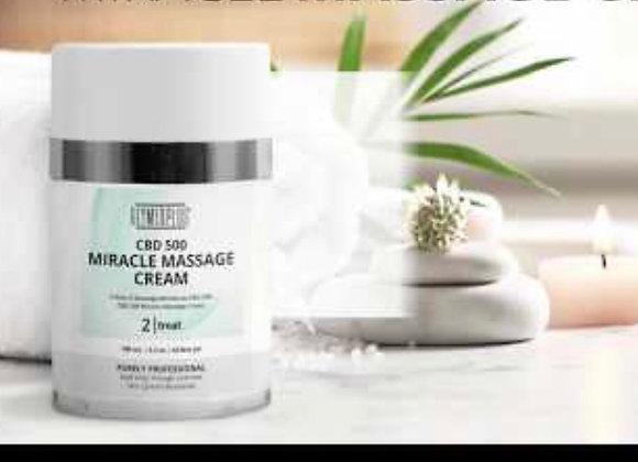 CBD 500 Miracle Massage Cream