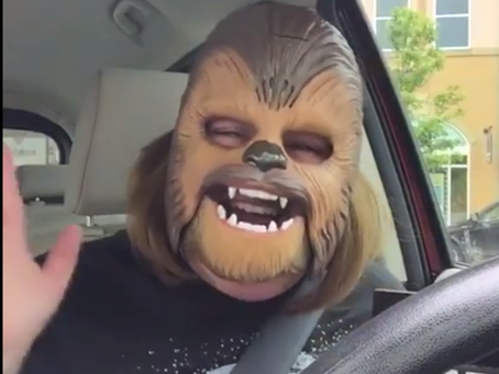 An Observation of Chewbacca Mom