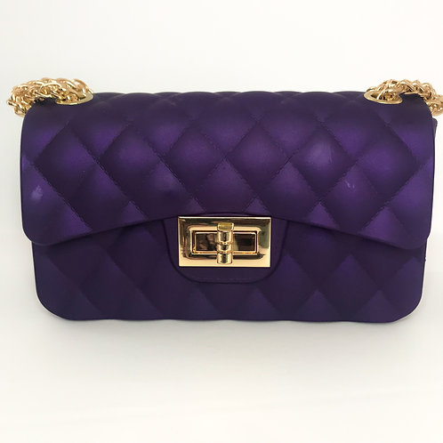 Jelly Mini Purse (Purple)