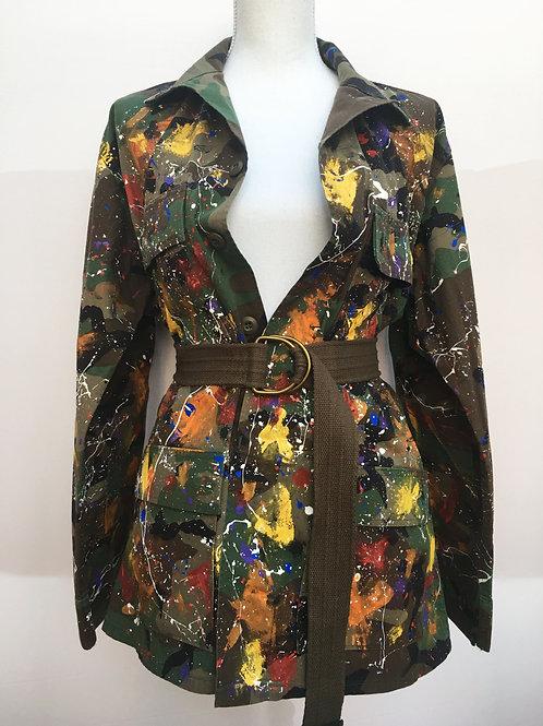 "Custom Camo Jacket ""Splatter"""