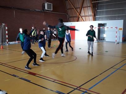 Matinée sportive pour les lycéens à Appert !