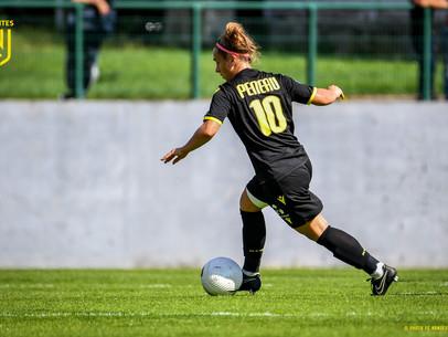 Entretien avec Leïla PENEAU, jeune joueuse internationale du FC Nantes