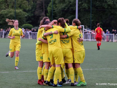 Nos féminines du FC Nantes décrochent un ticket pour la D2 !