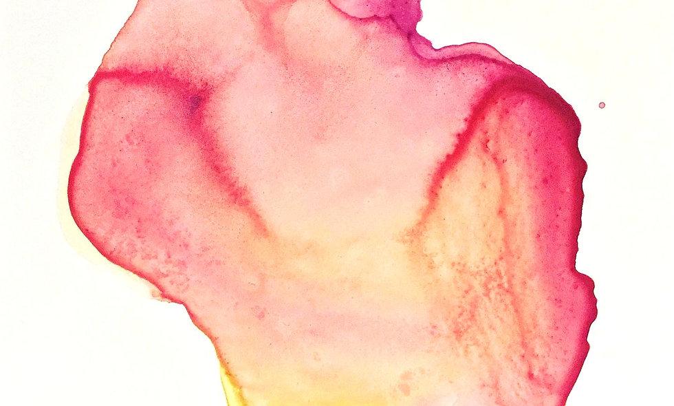 Heart Series: Healing Peach (SOLD)