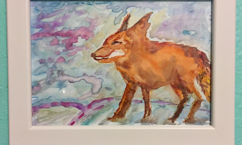 (SOLD)Animal Series: Fox in the Snow