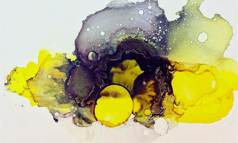 Hawaii Series: Violet Yellow Iris