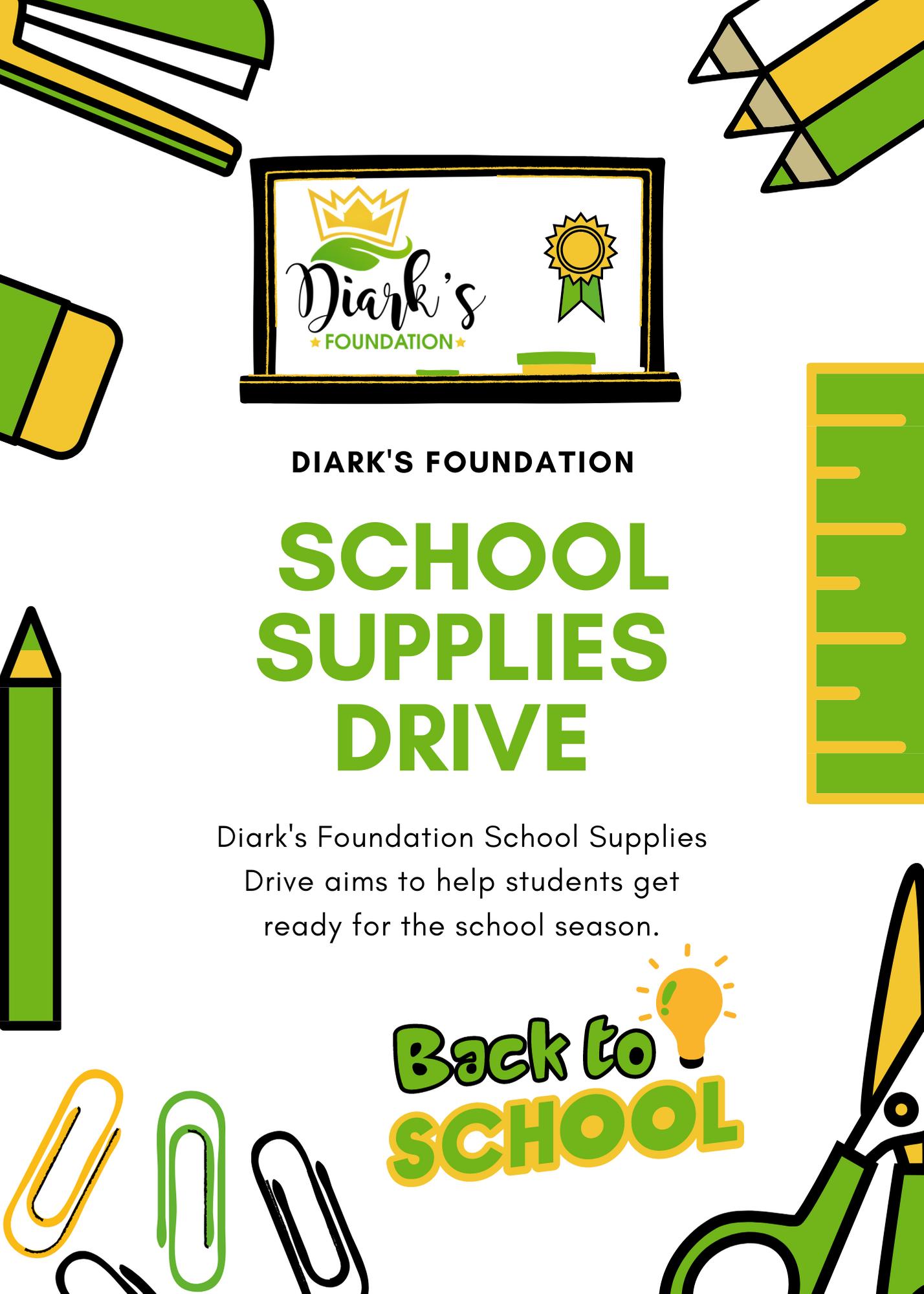Diark's Foundation School Drive