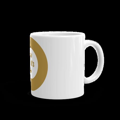 Diark's White glossy mug