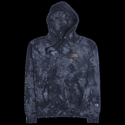Diark's Gold Diamond Champion tie-dye hoodie