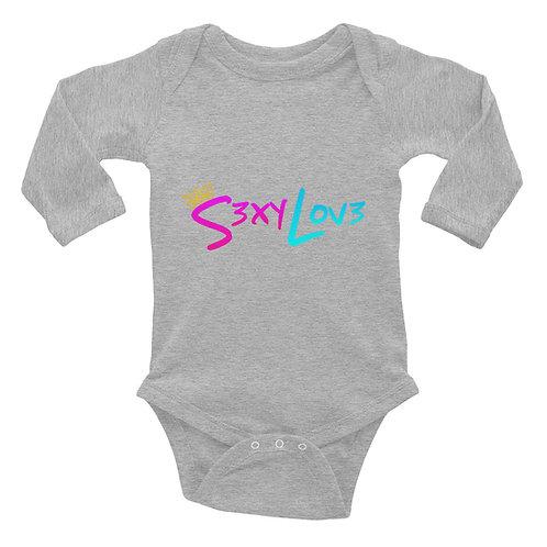 S3xyLov3 Infant Long Sleeve Bodysuit
