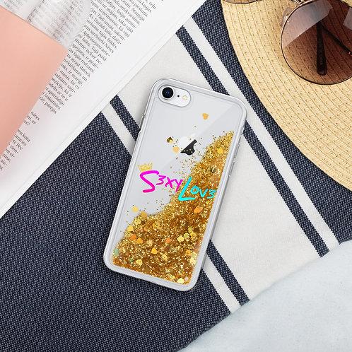 S3xyLov3 Liquid Glitter Phone Case