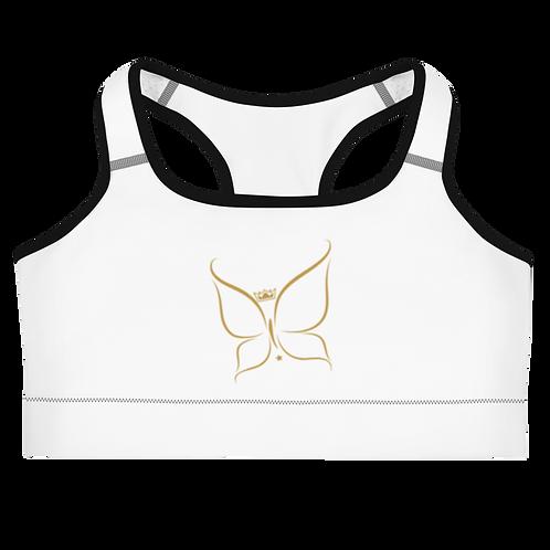 Diark's Gold Butterfly Sports bra