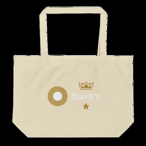 Diark's Large organic tote bag