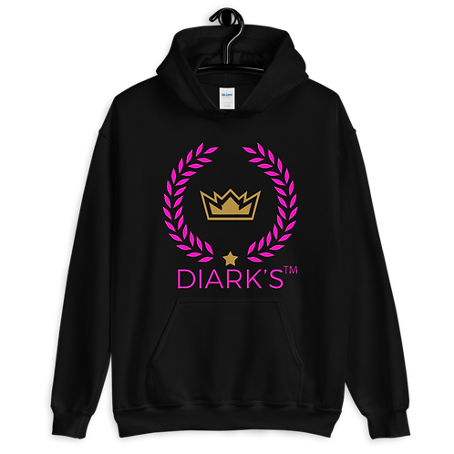 Diark's P'ink for Breast Cancer Unisex Hoodie