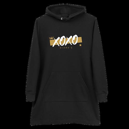 Diark's XOXO Hoodie dress