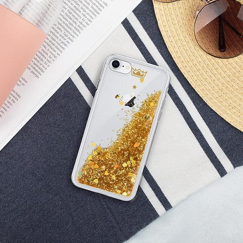 Diark's #Brand Liquid Glitter Phone Case