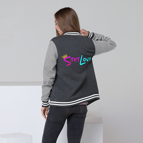 S3xyLov3 Women's Letterman Jacket