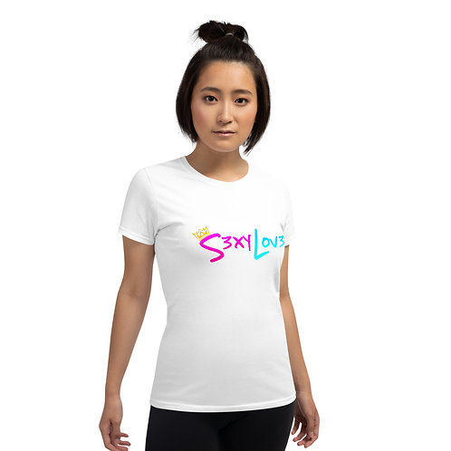 S3xyLov3 Women's short sleeve t-shirt