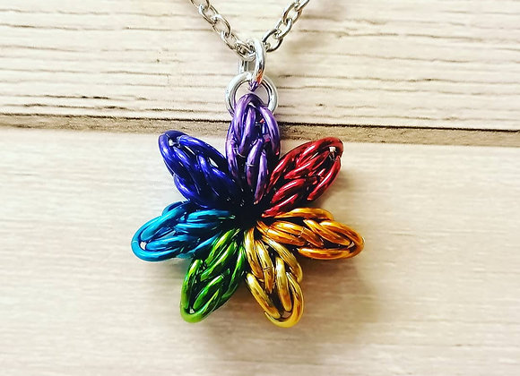 Rainbow Star pendant
