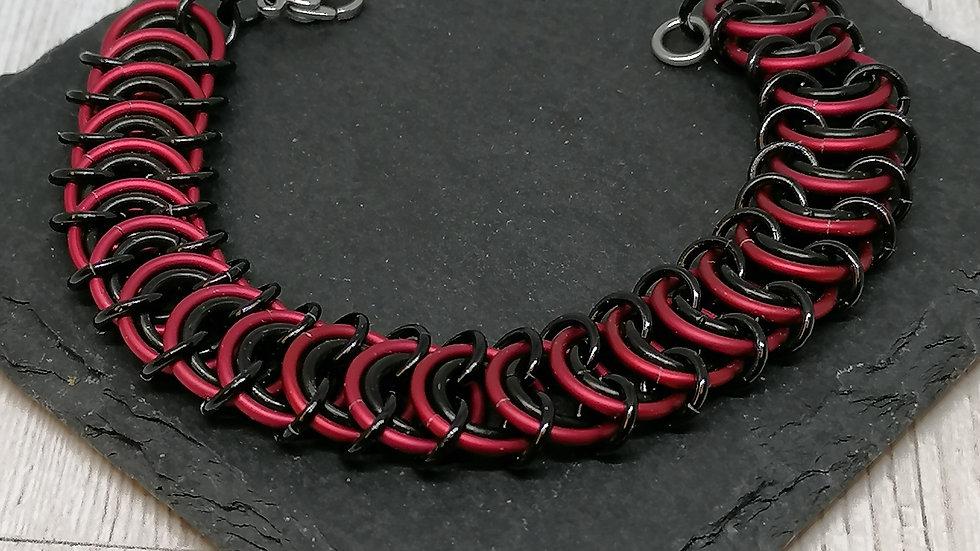 Vertebrae unisex bracelet