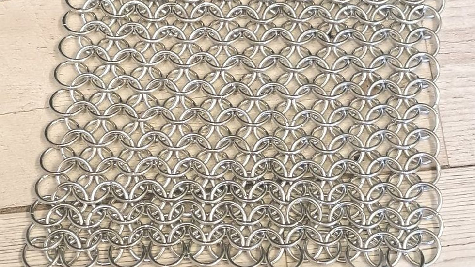 Chainmaille patch
