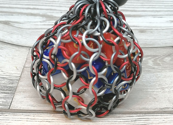 Small open weave dice bag - Vax