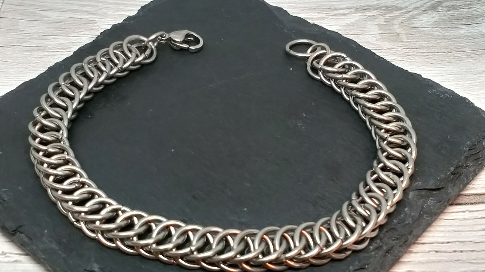 Half Persian Chainmaille Bracelet