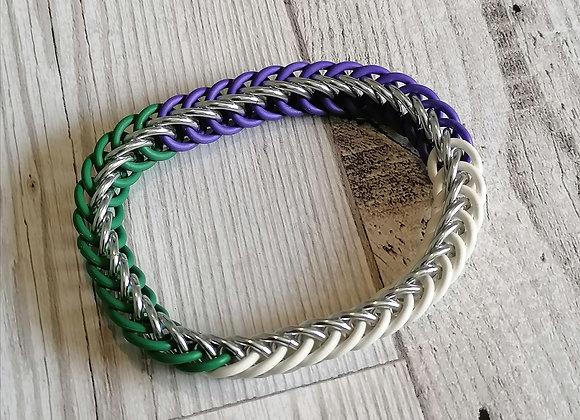 Stretchy Genderqueer bracelet