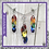 Thumbnail: Rainbow scale earring and necklace set
