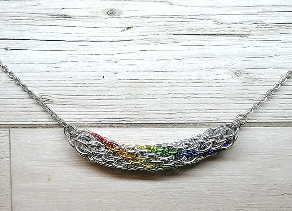 Spiraled Accent Necklace