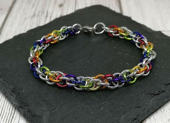Axiom spiral bracelet