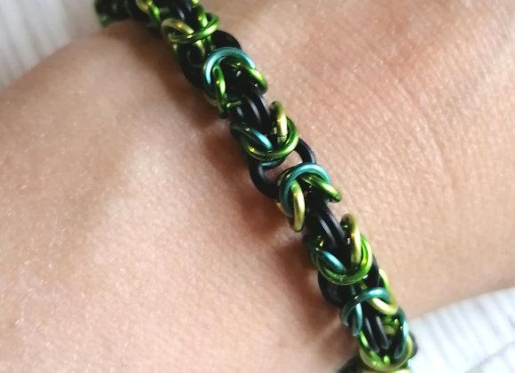 Stretchy Byzantine Bracelet