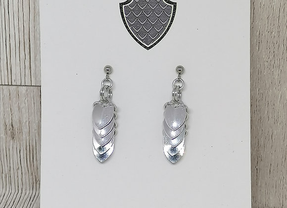 Tiny Scale earrings