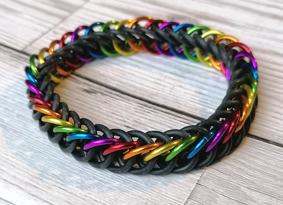 Stretchy Rainbow bracelet