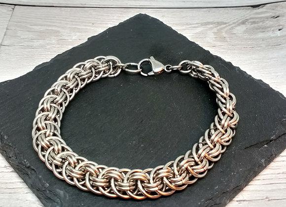 Orbital Vipera Berus Chainmaille Bracelet