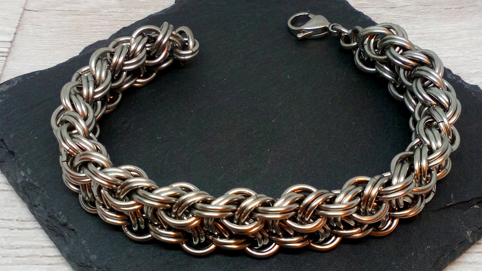 Kinged Viper Chainmaille Bracelet