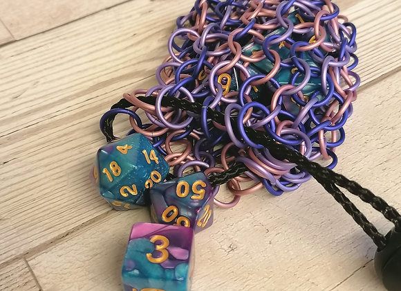 open weave dice bag -Jester