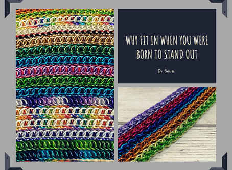 Born to stand out.....