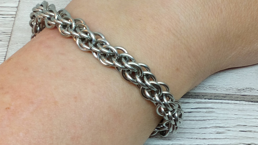 Sandstone Chainmaille Bracelet