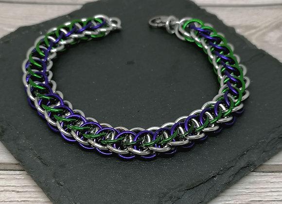 Flat full persian bracelet