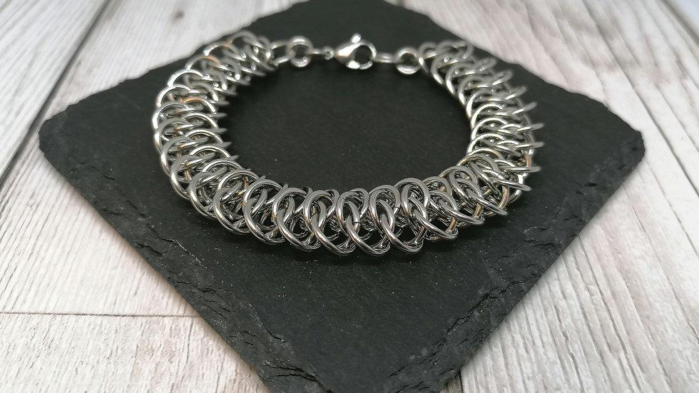 Unisex Arkham Chainmaille Bracelet