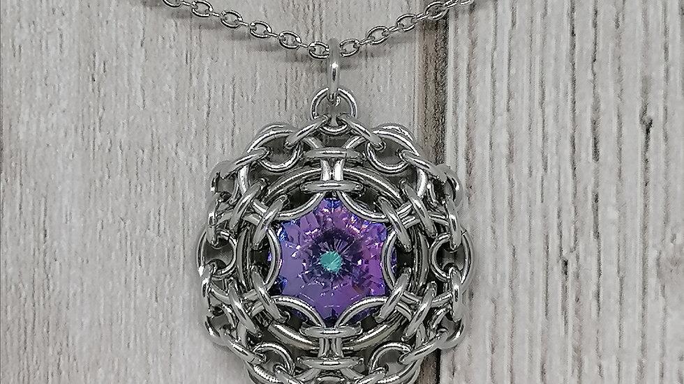 Crystal Reactor Pendant