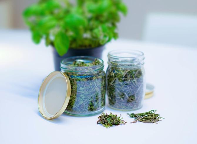 Conservez les herbes aromatiques du jardin pour l'hiver
