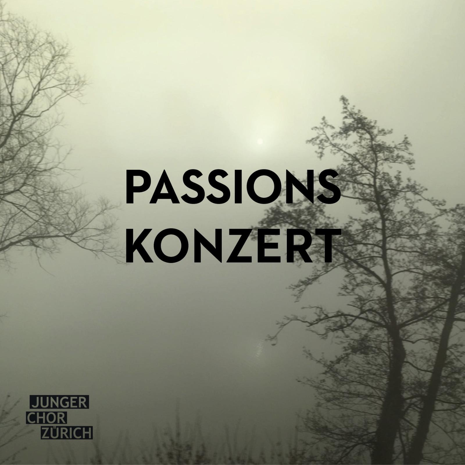 Flyer-Passionskonzert
