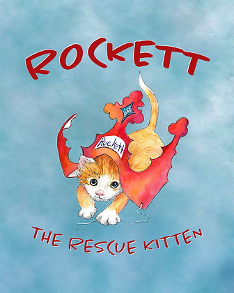 Rockett the Rescue Kitten (Hardcover)